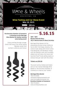 Wine and Wheels Flyer